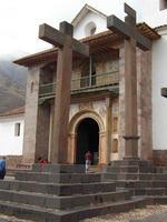 pérou 2015 - église d'andahuaylillas au pérou photo