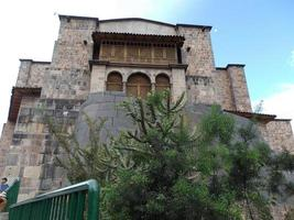 Pérou 2015 - la coricancha, l'ancienne forteresse inca de Cusco au Pérou