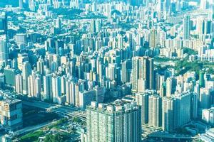 Paysage urbain de hong kong, Chine photo