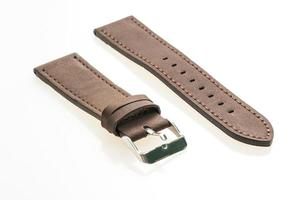 bracelet de montre en cuir photo