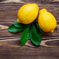 paire de citrons photo