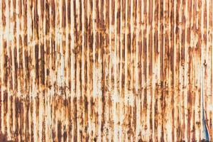 modèle de fond de texture de tôle ancienne rouillée photo