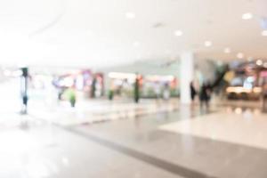 fond de centre commercial défocalisé photo