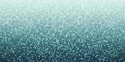 Mosaïque de flou abstrait 3D, illustration pour la science, les affaires ou la technologie