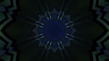 3d illustration du tunnel abstrait sombre photo