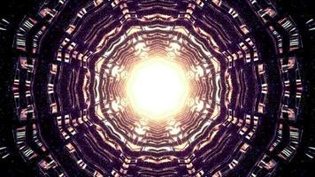 magie bien avec illustration 3d de trou brillant photo