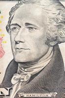 billet de dollar américain, concept commercial et bancaire photo