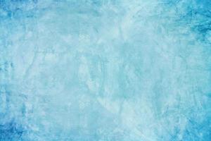 Mur de ciment ou de béton bleu pour le fond ou la texture photo