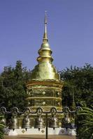 Temple public bouddhiste thaïlandais à chiang mai photo