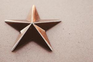 un fond texturé de décoration étoile dorée
