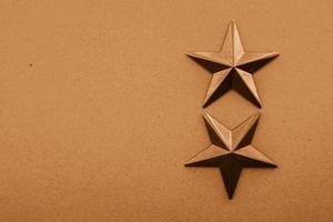fond texturé de décoration étoile dorée