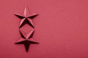 fond texturé de décoration étoile rouge