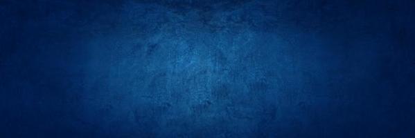 Mur de ciment ou de béton bleu foncé pour le fond ou la texture