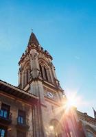 L'architecture de l'église dans la ville de Bilbao, Espagne photo