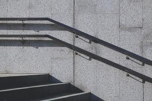 architecture des escaliers dans la rue photo