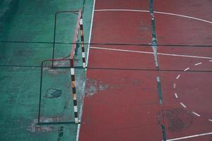 ancien terrain de football de rue