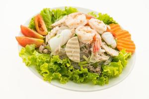 salade de nouilles épicées, à la thaïlandaise photo