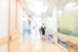 Résumé de l'intérieur de l'hôpital et de la clinique défocalisé
