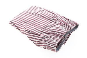 sous-vêtements sur fond blanc photo