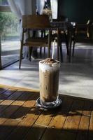 boisson moka au café glacé
