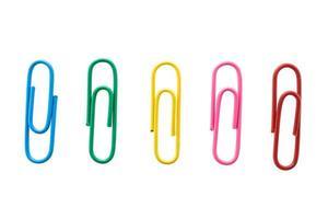 trombones sur fond blanc photo