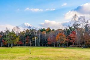 paysage au mt. Fuji, Yamanashi, Japon photo