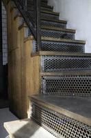 escaliers de style industriel