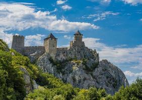 Forteresse de Golubac en Serbie photo