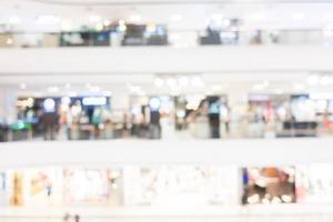 fond de centre commercial abstrait défocalisé