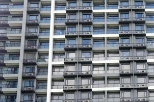 immeuble d'appartements de gratte-ciel photo