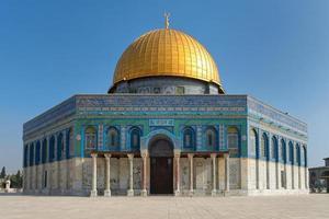 dôme de la mosquée du rocher