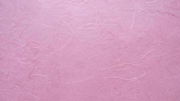 fond de texture de papier de mûrier rose photo