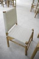 meubles de station de chaise blanche
