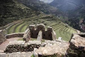 ruines incas à pisac, pérou photo