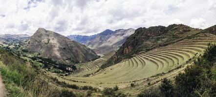 Terrasses agricoles à pisac, pérou photo