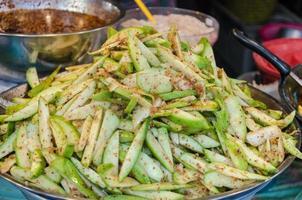 nourriture de mangue épicée photo