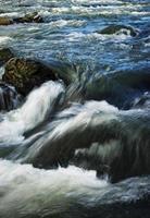rapides d'eau de rivière photo