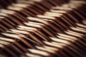texture de panier en osier photo