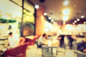 fond abstrait café défocalisé photo