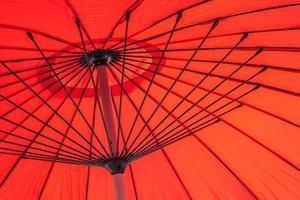 gros plan d'un parapluie photo