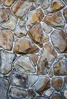 texture de la chaussée en pierre photo