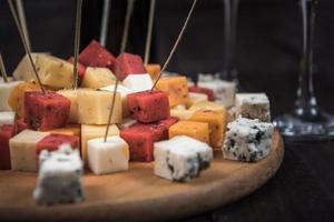 de nombreux types de fromages