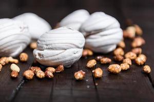 guimauves et cacahuètes