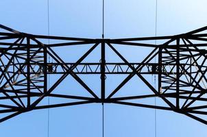 ligne électrique haute tension photo