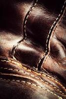 détail de vieux cuir photo