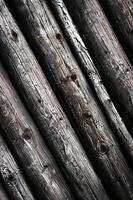 vieilles poutres en bois photo
