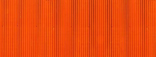 fond de bannière de texture de zinc orange coloré photo