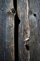 vieilles planches de bois sombres photo