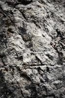 calcaire gris rugueux photo