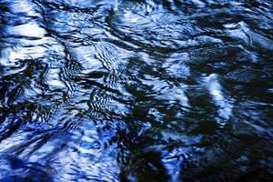 texture de l'eau foncée photo
